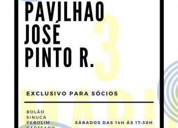 Pavilhão José Pinto Ribeiro – Reativação